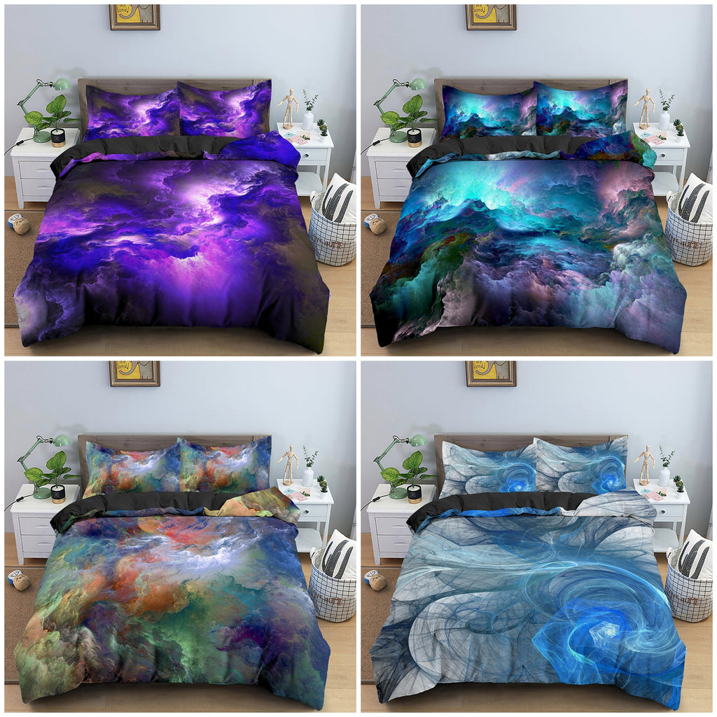 Psychedelic Abstract Duvet Cover Set