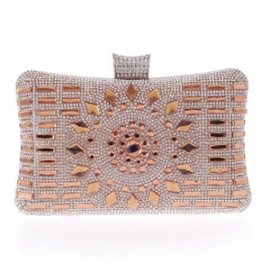 Incredible Rhinestone Embellished Rectangle Clutch | http://chicboutique.com.au