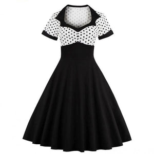 Women's Retro 1950s 60s Female Polka Dots Pinup Rockabilly Sexy Party Dress | http://chicboutique.com.au