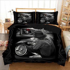 Gothic Bedding Duvet Cover with Pillow Case | http://chicboutique.com.au
