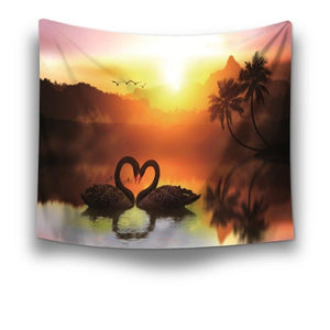 Printed tapestry scenery Wall Hanging Home decoration | http://chicboutique.com.au