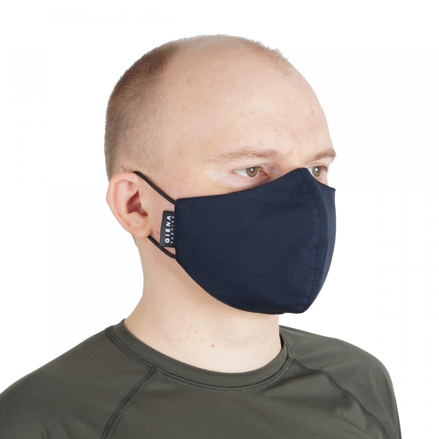Navy Blue Vizard Face Mask by Giena Tactics