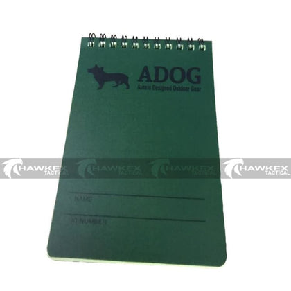 ADOG All Weather Notebook - Hawkex Tactical