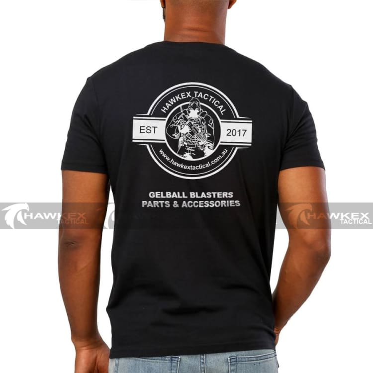 Hawkex Tactical Black Cotton Store Support Shirt