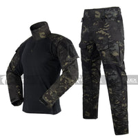 HT3 Combat Uniform Set - Multicam Black - Hawkex Tactical
