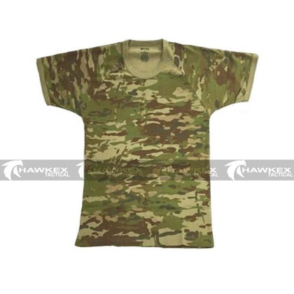 HUSS Tactical AMCU Australian Multicam Pattern Short Sleeve T Shirt. - Hawkex Tactical