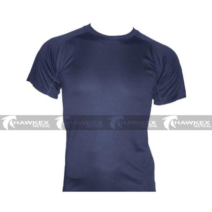 HUSS Tactical Navy Quick Dry Under Shirt - Hawkex Tactical