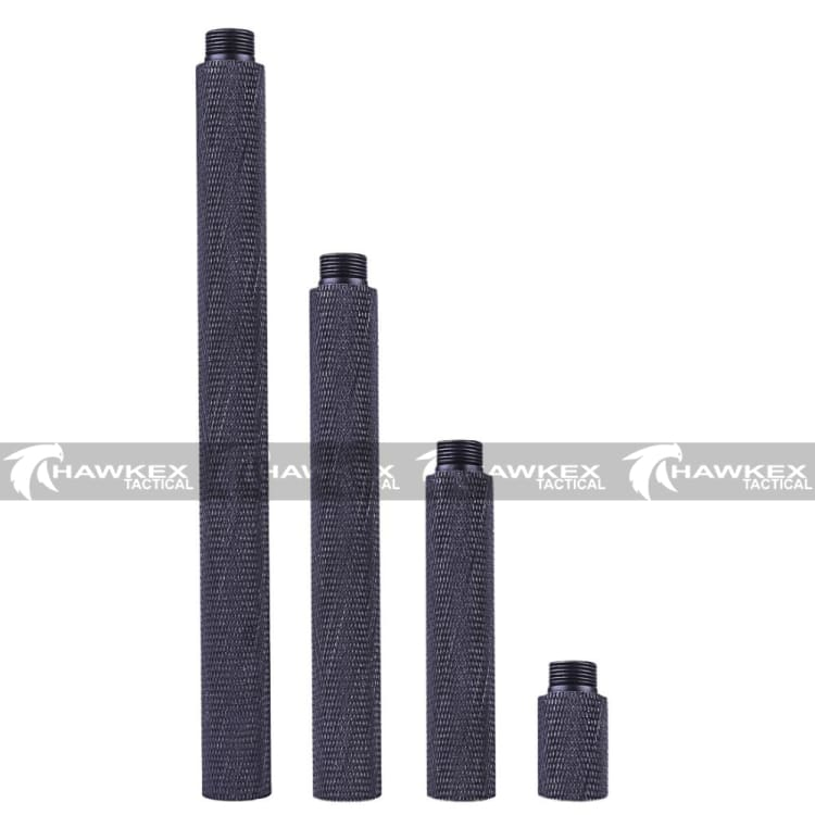 Knurling Textured Metal Outer Barrel 4pcs set.