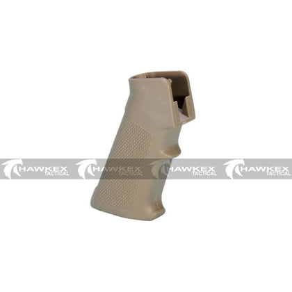 M4 Standard Pistol Grip - Dark Earth - For V2 Gearbox Gel Blasters - Hawkex Tactical