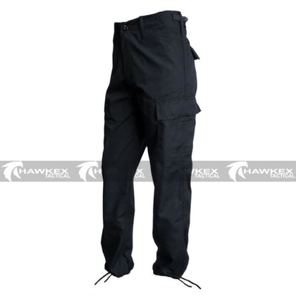 M65 Trousers - Black - Hawkex Tactical