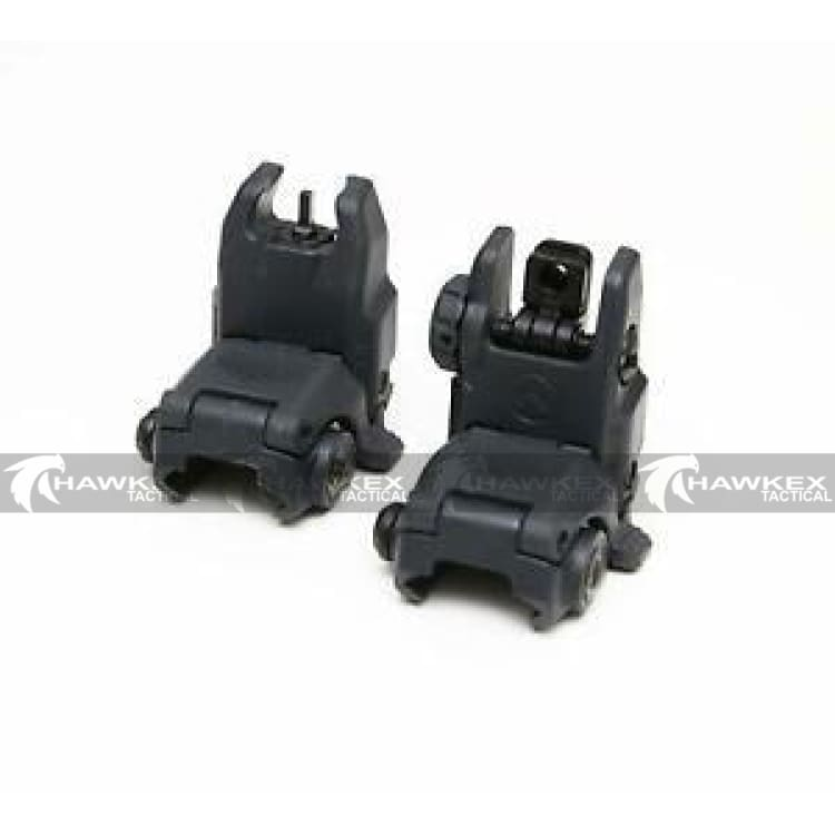 Magpul Style MBUS Sight Set GEN 2 Color Black Front & Rear Included