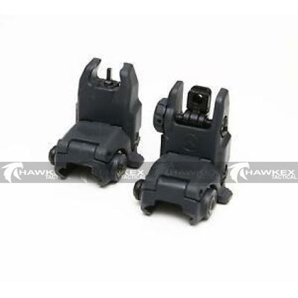 Magpul Style MBUS Sight Set GEN 2 Color Black Front & Rear Included - Hawkex Tactical