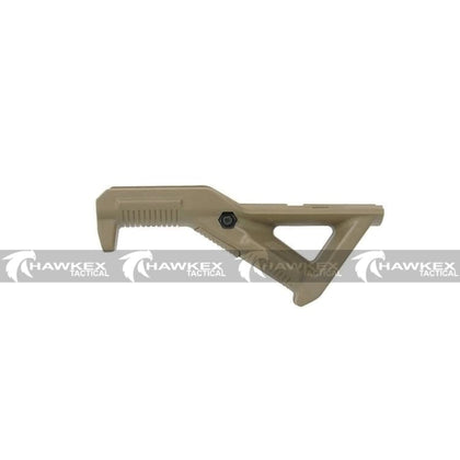 MAGPUL/PTS Style AFG Angled Fore Grip (DE) For Toy Gelball Blaster - Hawkex Tactical