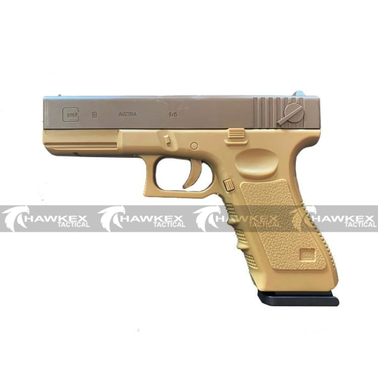 Manual Glock G19 – Tan