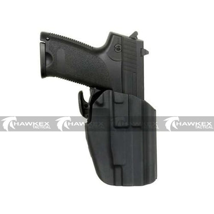 MULTI-FIT PISTOL HOLSTER (COMPACT) - BLACK - Hawkex Tactical