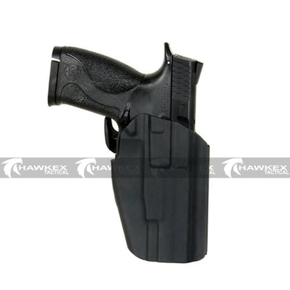 MULTI-FIT PISTOL HOLSTER (STANDARD) - BLACK - Hawkex Tactical