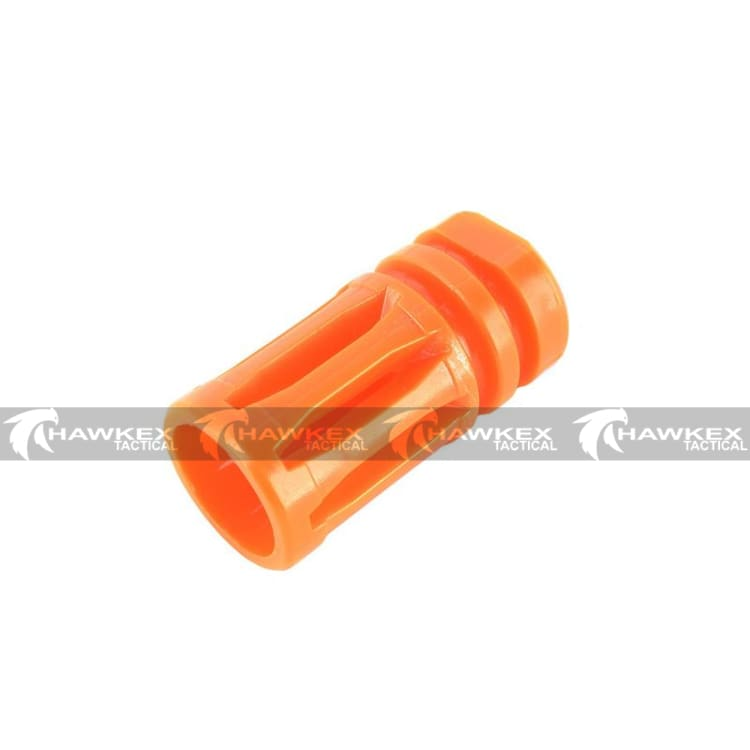 Orange Safety Tip Bird Cage Flash Hider