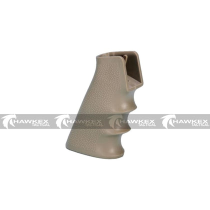 Pistol Grip (Type A) - Dark Earth - For V2 Gearbox Gel Blasters - Hawkex Tactical