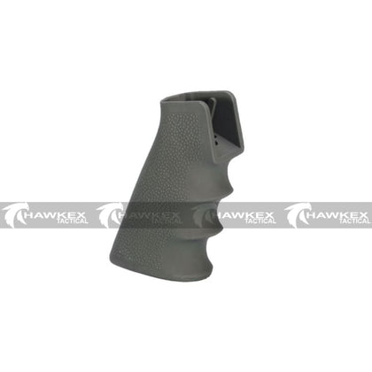 Pistol Grip (Type A) - Olive Drab - For V2 Gearbox Gel Blasters - Hawkex Tactical