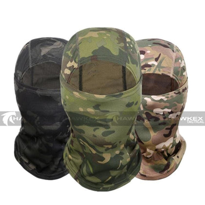 Quick-Dry Face Mask Balaclava Multicam - Hawkex Tactical