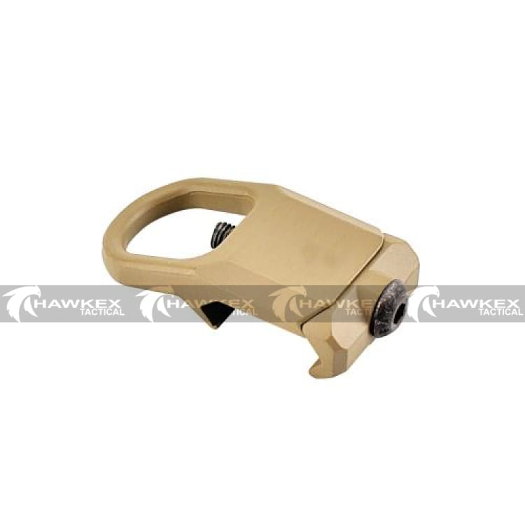 RSA-GBB Tan Sling Mount Ring Buckle