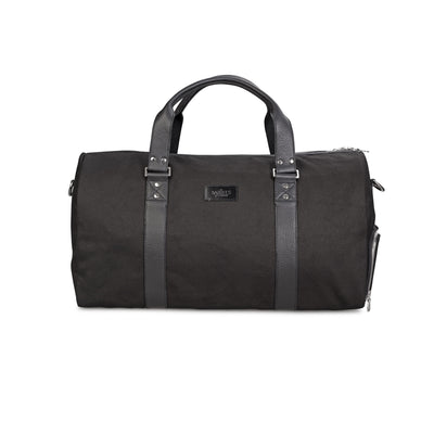 Black Collection Barrel Bag Front Barrels of London