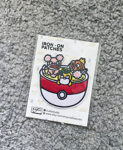 Pokemon Chawamushi Iron On Patch