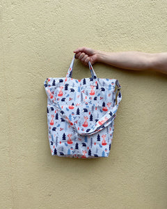 Handy Sling - Artic Fox Print (Water-Repellent)