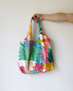 Shopper Tote - Ikea Abstract Flora (Cotton)