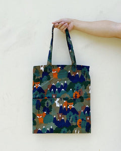Double Pocket Tote (Cotton)