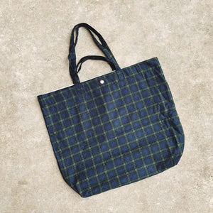 Gentlemen Checks XL Tote