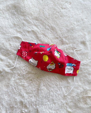 Kid's Reusable Mask - Original Sanrio Licensed Fabric (Cotton)