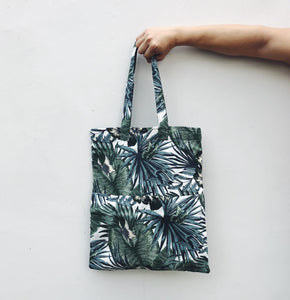Celadon Double Pocket Tote