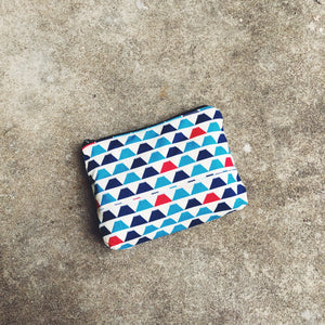 Fuji Mountain Japanese Cotton Pouch