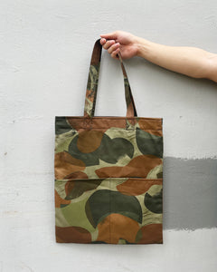 Double Pocket Tote - Patch Camou (Canvas)