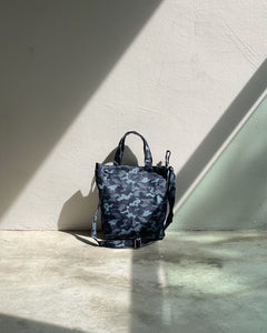 Mini/Small Sling Tote - Blue Camou