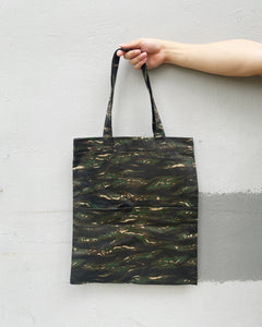Double Pocket Tote - Tiger Camou (Canvas)