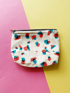 Abstract Design Cotton Pouch