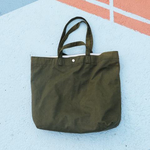 XL Tote (Canvas) Olive