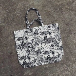 Tropical White XL Tote