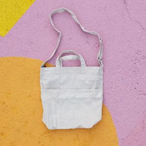 White Canvas Handy Sling