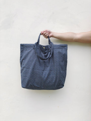 Japanese Cotton Symmetrical Print XL Tote