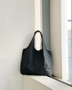 Shopper Tote - Dark Grey (Canvas)