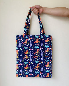 Double Pocket Tote (Water-Repellent)