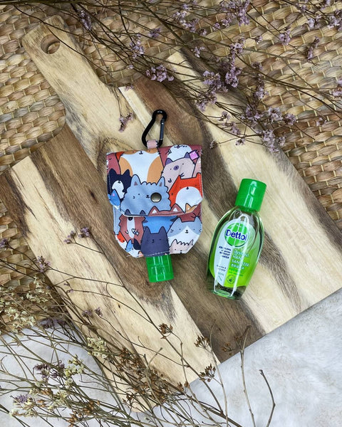 Sanitizer Pouch - Water-Repellent