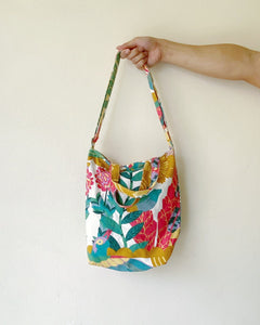 Mini/Small Sling Tote - Ikea Abstract Flora