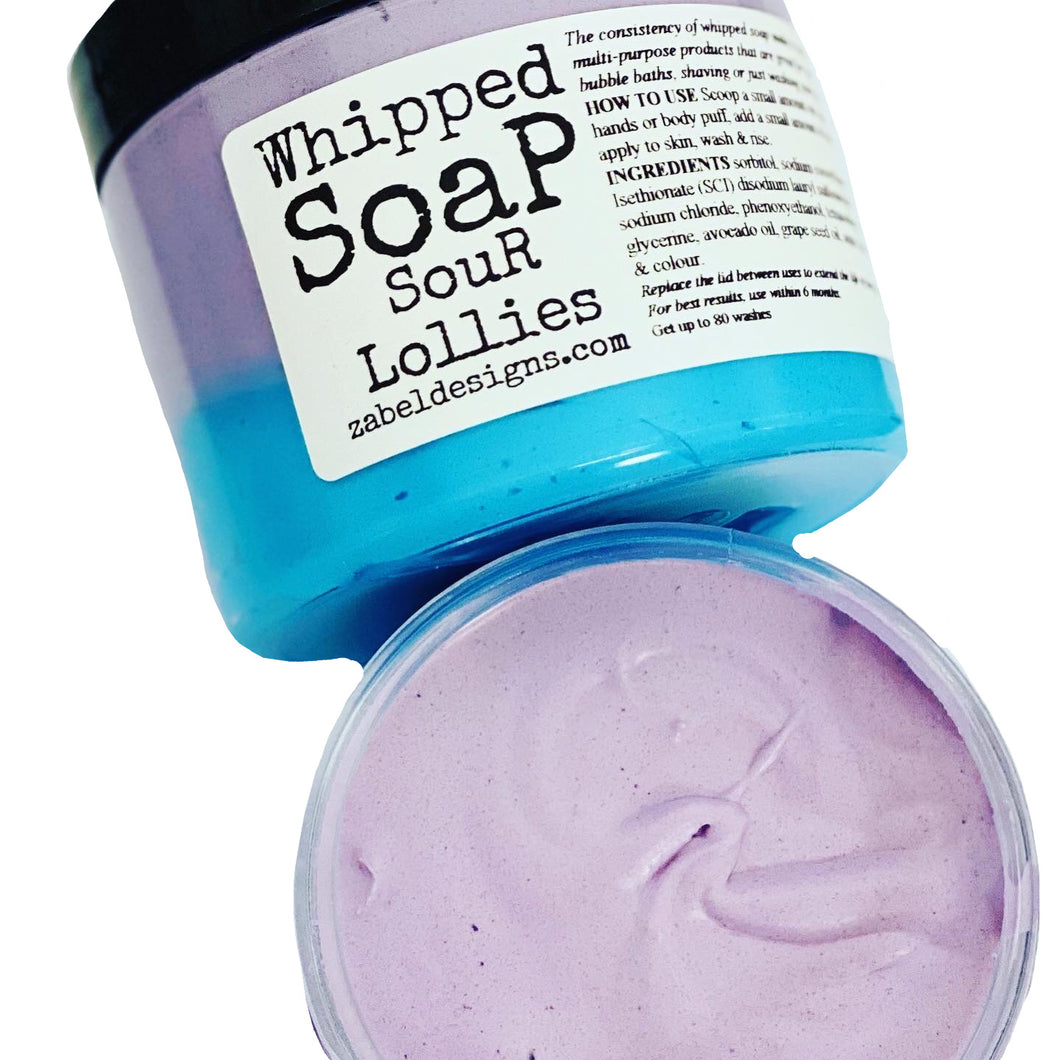 Whipped Soap - Sour Lollies