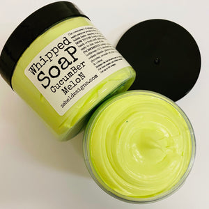 Whipped Soap - Cucumber Melon