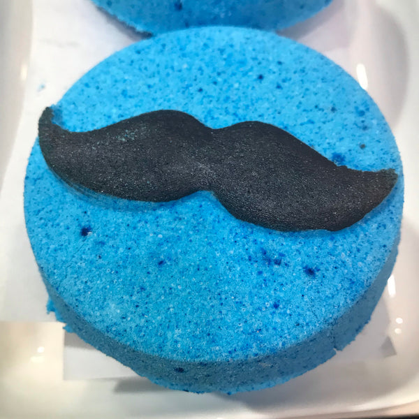 Bath Bomb - Mr Moustache 130g