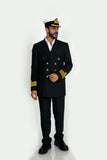 Merchant Navy Captain Suit